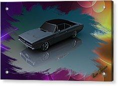 1969 Dodge Charger Acrylic Print