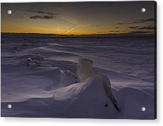 -25 Freezing Sunset Acrylic Print