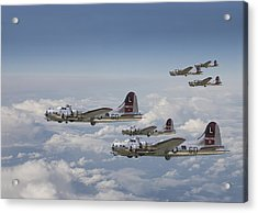 381st Group Outbound Acrylic Print by Pat Speirs