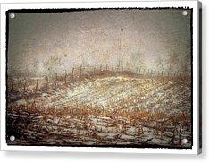 A Cold Field Acrylic Print