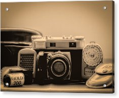 A Kodak Moment Acrylic Print