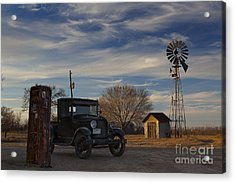 A Lost Era Acrylic Print by Keith Kapple