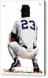 A Moment To Remember II Don Mattingly  Acrylic Print