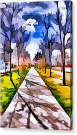 A Walk To Remember Acrylic Print