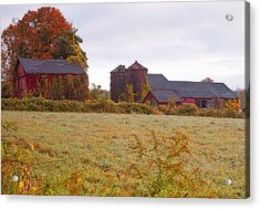 Abandoned Connecticut Farm  Acrylic Print