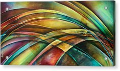 ' Abstract ' L1 Acrylic Print by Michael Lang