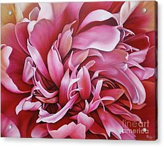 Abstract Peony Acrylic Print