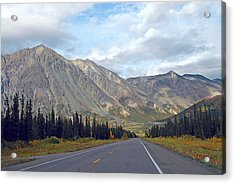 Acrylic Print featuring the photograph  Along The Parks Highway  by Dyle   Warren
