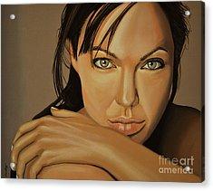 Angelina Jolie 2 Acrylic Print