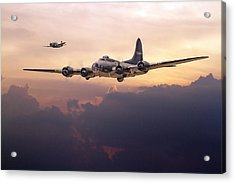 B17- Last Home Acrylic Print by Pat Speirs