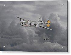 B24 Liberator  446th Bomb Group Acrylic Print