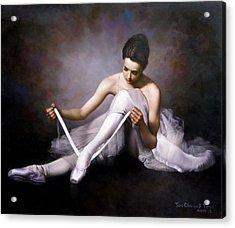Ballerina 3 Acrylic Print