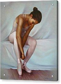 Ballerina 4 Acrylic Print