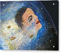 Barack Obama  Stars Acrylic Print