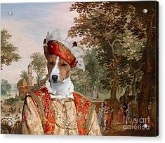 Basenji Art Canvas Print Acrylic Print