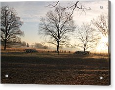 Battery Park Valley Forge National Park Acrylic Print