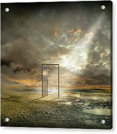 | Behind The Reality | Acrylic Print by Franziskus Pfleghart