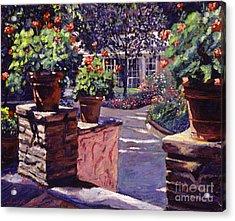 Bel-air Gardens Acrylic Print by David Lloyd Glover