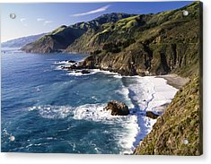 Big Sur At Big Creek Acrylic Print by George Oze