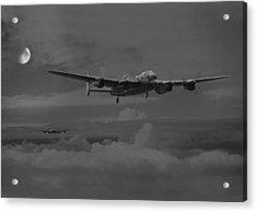 Bomber's Moon Acrylic Print