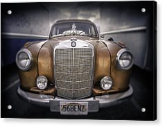 Acrylic Print featuring the photograph  Boxed-in-benz...... by Russell Styles