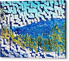 Breaking Away To Donner Lake Acrylic Print