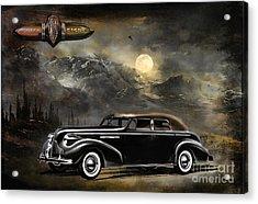 Buick 1939 Acrylic Print by Andrzej Szczerski