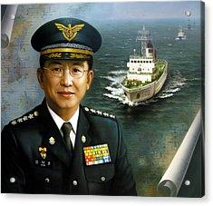 Captain Korea Acrylic Print