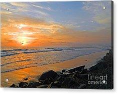 Carlsbad State Beach Acrylic Print