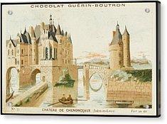 Chateau De Chenonceaux Acrylic Print