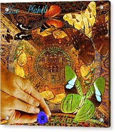 Civitate Dei   City Of God  Acrylic Print by Joseph Mosley