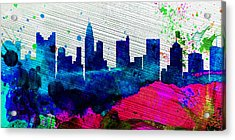 Columbus City Skyline Acrylic Print