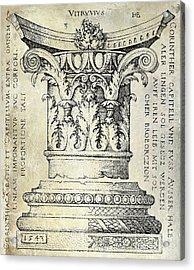 Corinthian Column Acrylic Print