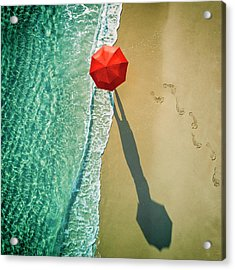 . Deep Water . Acrylic Print by