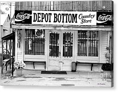 Depot Bottom Country Store Acrylic Print by   Joe Beasley