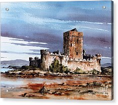 Doe Castle In Donegal Acrylic Print