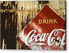 Drink Coca Cola  Memorbelia Acrylic Print