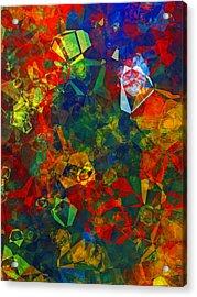 Electronics Acrylic Print by Patricia Motley