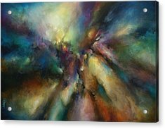 ' Endless Journey ' Acrylic Print by Michael Lang