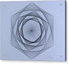 Energy Spiral Acrylic Print