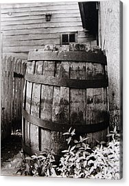 Acrylic Print featuring the photograph  Ephrata Cloisters Barrel by Jacqueline M Lewis