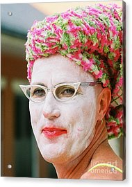 Eye See Colours Of Noxie Noxzema At The Southern Decadence In New Orleans Louisiana Acrylic Print by Michael Hoard