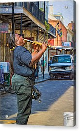 Feel It - Doreen's Jazz New Orleans 2 Acrylic Print by Steve Harrington
