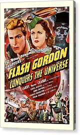 Flash Gordon Conquers The Universe 1940 Acrylic Print