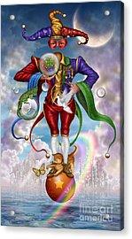 Fool Of Dreams Acrylic Print by Ciro Marchetti