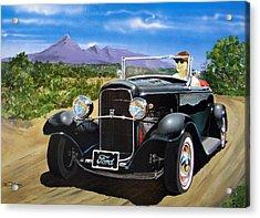 Ford Roadster Highboy Acrylic Print
