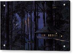 Forest Acrylic Print by Raphael  Sanzio