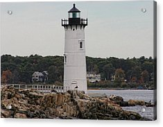 Fort Constitution Light Acrylic Print