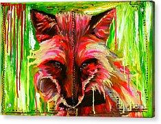 Foxy Lady Hermaique Acrylic Print