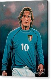 Francesco Totti 2 Acrylic Print